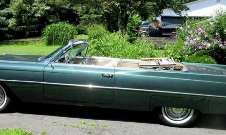 Final Fins: 1964 Cadillac DeVille Convertible – SOLD!