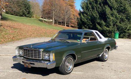 1976 Ford Granada 351 – $3,200