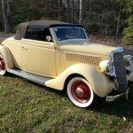 Award Winner: 1935 Ford Model 48 Cabriolet Restomod – $38,500