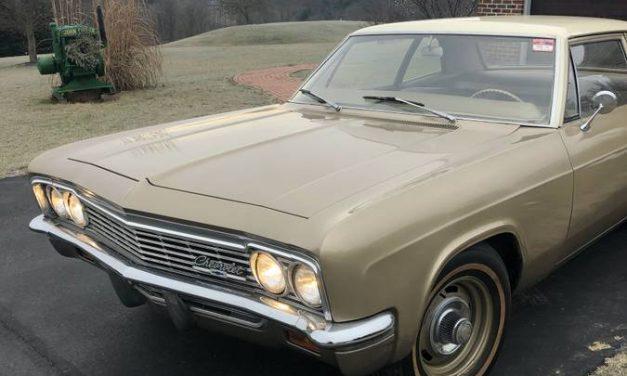 Classifind Cut: 1966 Chevrolet Biscayne – $9,600