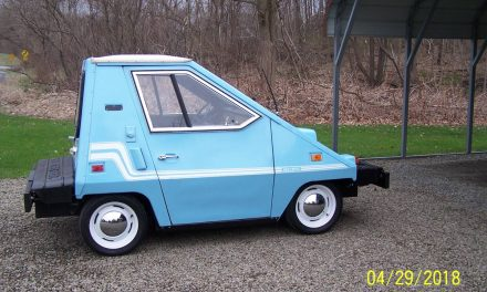 Neighborhood Nuisance: 1981 Vanguard Comutacar EV – $7,500