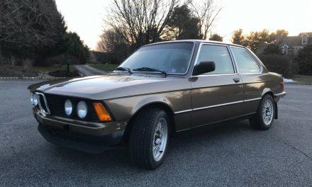 1983 BMW 320i E30 Swap -$9,200