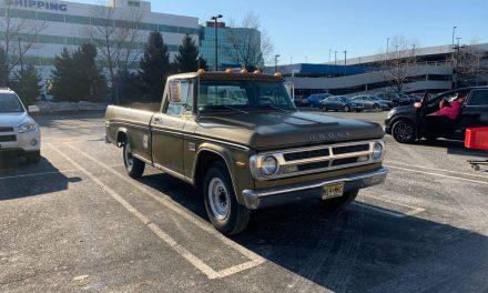 1970 Dodge D200 3/4 Ton Camper Special – $11,000