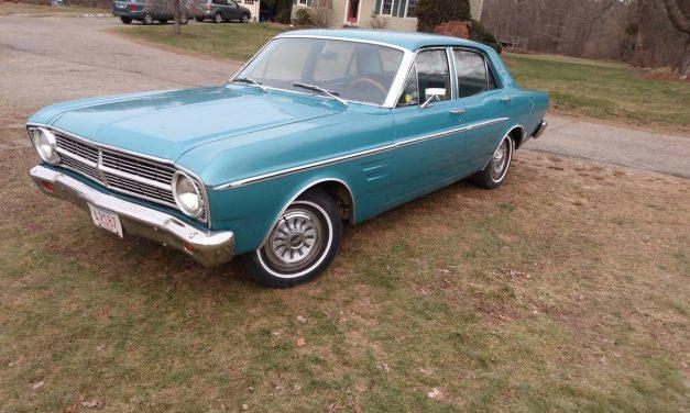 Grandma's Car: 1967 Falcon Futura – $2,750