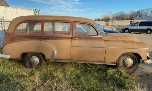Tin Woody: 1950 Chevrolet Styline Deluxe Project – $8,900