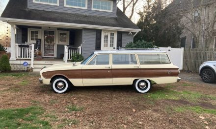 NEW! Award 56: 1961 Ford Falcon Wagon – NOW $15,999