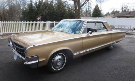 Classifind Cut: 1965 Chrysler 300 Four Door Hardtop- SOLD!