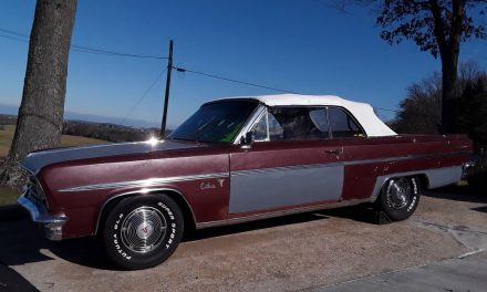 1963 Oldsmobile Cutlass F85 Convertible – SOLD!