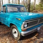 Four By Ford: 1970 Ford F100 Custom Styleside Short Bed 4×4 – $15,000