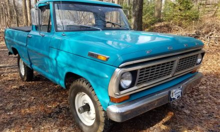 Four By Ford: 1970 Ford F100 Custom Styleside Short Bed 4×4 – SOLD!