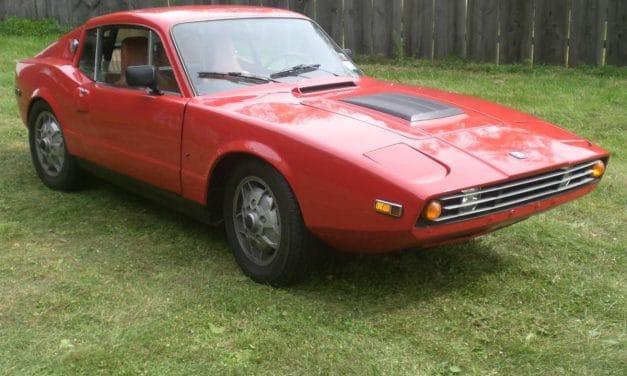 Slippery Swede: 1971 Saab Sonnett III – $11,500