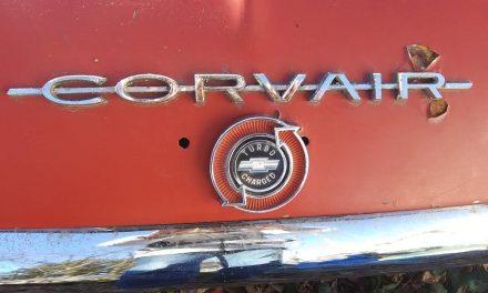 Poor Man's Porsche: 1963 Chevrolet Corvair Monza Spyder Convertible – Sold?