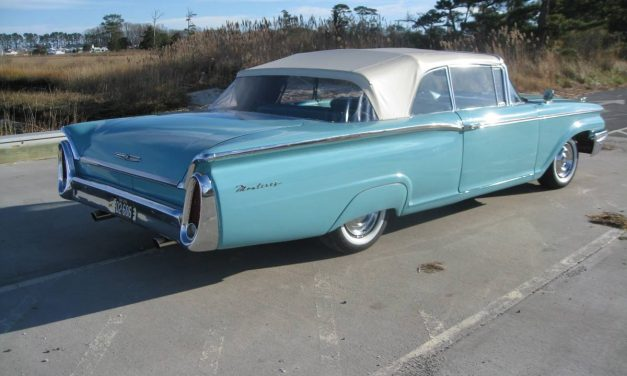 Compound Curve: 1960 Mercury Monterey – $24,500
