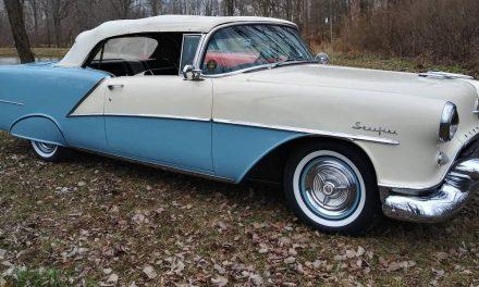 Sleeping Beauty: 1954 Oldsmobile Nighty-Eight Starfire Convertible – NOW $53,000?