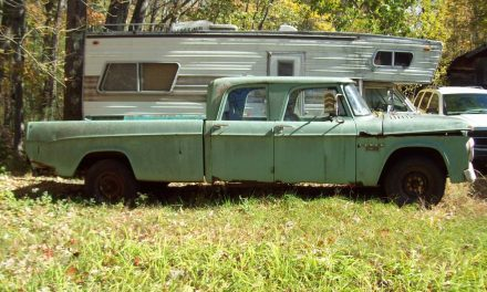Classifind Cut: 1966 Dodge D200 Camper Special Four-Door Project – Sold?