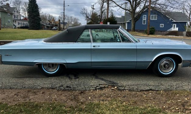 Classifind Cut: 1967 Chrysler 300 Convertible – $16,500