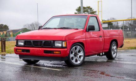 Slick Hardbody: 1993 Nissan D21 Pickup – SOLD!