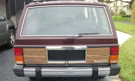 Rad Luxury: 1989 Jeep Cherokee XJ Wagoneer – Sold?