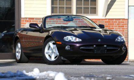 Concours Cat: 1998 Jaguar XK8 Convertible – Sold?