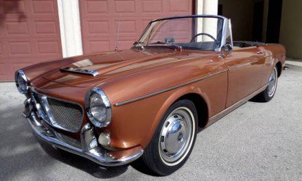 Copper & Cream: 1962 Fiat 1200 Vetture Speciali Spider – SOLD!