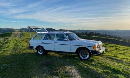 1981 Mercedes-Benz W123 300TD Estate – SOLD!