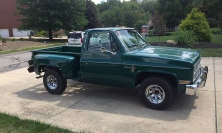 Oil Burner: 1983 Chevrolet C10 1/2 Ton Stepside Diesel – Sold?
