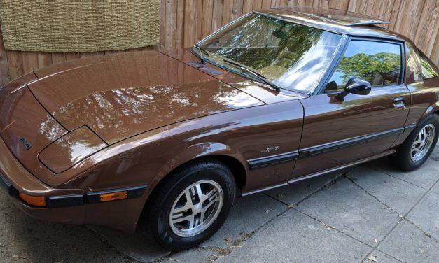 Havana Brown: 1983 Mazda RX7 FB GSL 5-Speed – $8,000