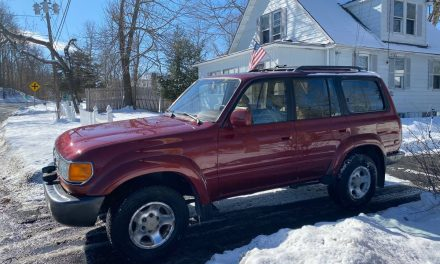 Swansong Six: 1997 Toyota FJ80 Land Cruiser – SOLD!