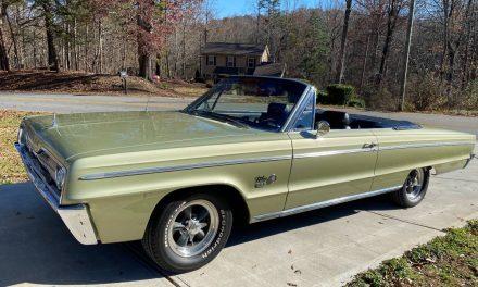 Detailed Description: 1966 Dodge Polara 500 Convertible – Sold?