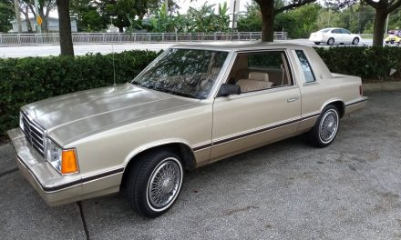 Bare Bones: 1983 Plymouth Reliant K SE Coupe – NOW $2,495 OBO