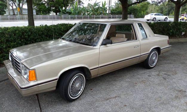 Bare Bones: 1983 Plymouth Reliant K SE Coupe – NOW $3,800 OBO