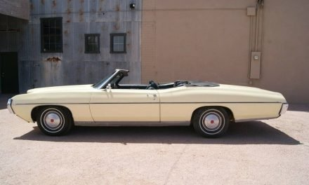 Yellow Yacht: 1969 Pontiac Bonneville Convertible – SOLD!