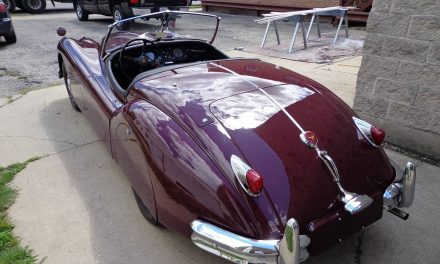 Classy Cat: 1955 Jaguar XK140 Roadster – Sold?