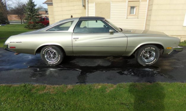 NEW! Award 61: 1973 Buick Gran Sport 455 4-Speed – $15,000 Firm