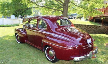 Comfortable Classic: 1946 Ford Coupe Sedan Mild Custom – Sold?