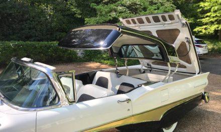 Dancing Droptop: 1958 Ford Fairlane Skyliner Retractable – $44,000
