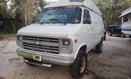 Overland Project: 1990 Chevrolet Van 4×4 Hightop – SOLD!