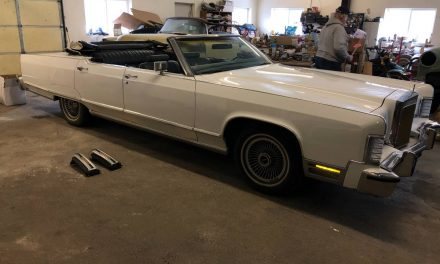 Topless Towncar: 1979 Lincoln Continental Four-Door Convertible – NOW $10,000