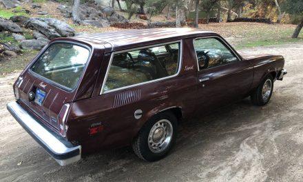 Real Rare: 1976 Chevrolet Vega Nomad Edition – STILL $5,800