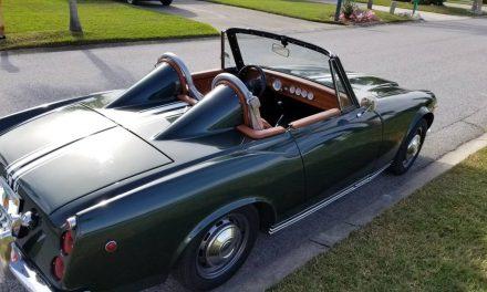 Fairlady Restomod: 1969 Datsun 2000 Roadster – $13,400