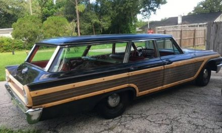 Black Beauty: 1961 Ford Country Squire Wagon – SOLD!