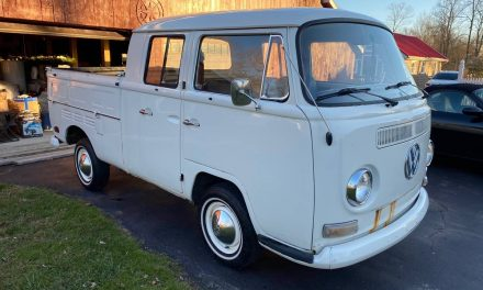 Driver Doka: 1970 Volkswagen Double Cab Transporter – SOLD!