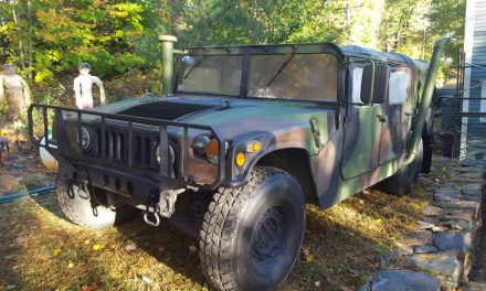 Daily Driver Ready: 1992 AM General Humvee – SOLD!