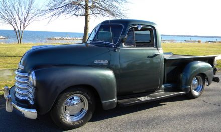 Straight Six: 1951 Chevrolet 3100 Three Window Stepside – SOLD!