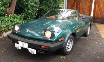 Sports Car Swan Song: 1980 Triumph TR8 – SOLD!