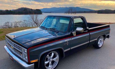 Stanced Squarebody: 1986 Chevrolet C10 Silverado Street Machine – SOLD!