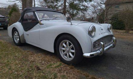 Listing For A Friend: 1961 Triumph TR3A – SOLD!