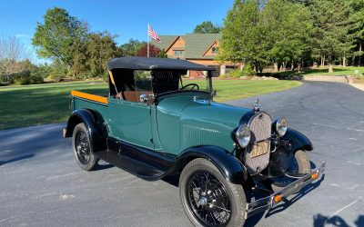 1929 Ford Model A Open Top Pickup