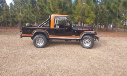 Cult Classic: 1982 Jeep CJ8 Scrambler – Sold?