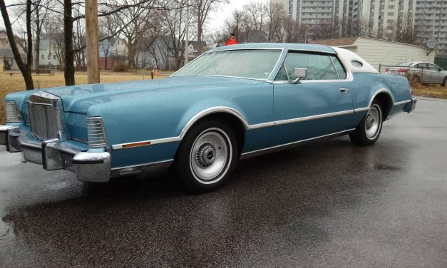 Blue Whale: 1976 Lincoln Continental Mark IV 50K Survivor – STILL $10,000